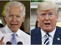 Joe Biden a Donald Trump