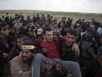 Demonštrácie v Palestíne