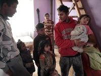 Svojpomocná výstavba domov pre Rómov.