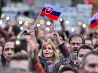Protest Za slušné Slovensko
