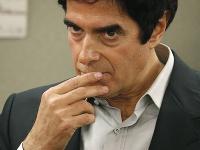 David Copperfield na súde v Las Vegas.