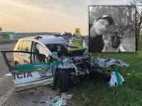 Policajt Miroslav zomrel pri tragickej nehode pri Galante.