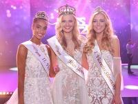 2. vicemiss Slovensko 2018 Jasmina Tatyová, Miss Slovensko 2018 Dominika Grecová, 1. vicemiss Slovensko 2018 Radka Grendová