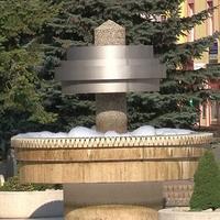 Peniaca fontána v Poprade