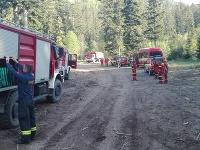 Zásah hasičov vo Vysokých Tatrách