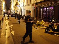 K útoku došlo v sobotu večer v druhom parížskom obvode neďaleko Parížskej opery.