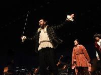 Mercutio, Tybalt, Romeo, Benvolio