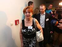 Natália Grausová a Rastislav Schlosár. Obaja mali byť podľa podpisov v parlamente.
