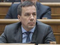 Na snímke poslanec NR SR Erik Tomáš