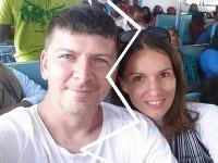 Andrej Bičan s bývalou manželkou Editou