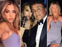 Dcéra Sylvestera Stalloneho Sistine je poriadna kosť.