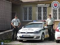 Policajti zachránili dezorientovaného Martinčana.