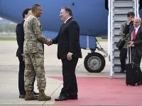 Šéf americkej diplomacie Mike Pompeo.