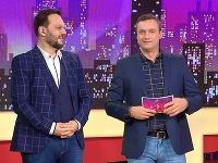 """Milan """"Junior"""" Zimnýkoval a Marcel Forgáč v šou Nikto nie je dokonalý definitívne skončili."""
