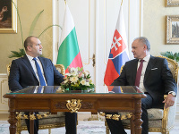 Rumen Radev a Andrej Kiska