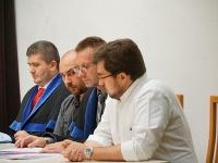 Martin Andrejčák a Ján Majo na súde.