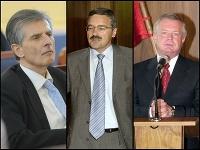 Peter Weiss, Pavol Hamžík a Jozef Migáš