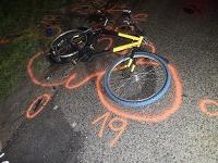 Odhodený bicykel.