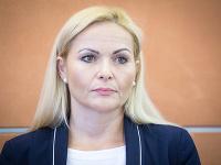 Prvá viceprezidentka Policajného zboru Jana Maškarová.
