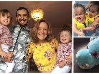 Shannan Brandonová kúpila svojej dcére plyšového hrocha.