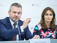 Peter Pellegrini a Andrea Kalavská