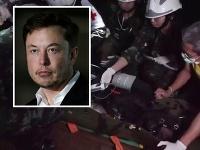 Elon Musk hovoril o záchrannej akcii v Thajsku.