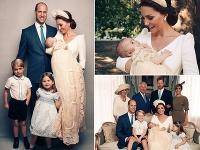 Kensingtonský palac zverejnil oficiálne fotky z krstu princa Louisa.