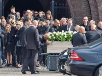 Pohreb Silvia Aquinoa.