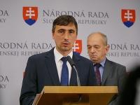 Ján Marosz, tieňový minister dopravy, a Jiří Kubáček, expert hnutia OĽANO na dopravu
