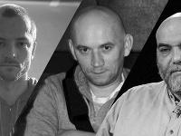 Na snímke zavraždení ruskí novinári