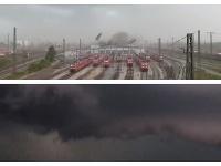 Búrka v Nemecku