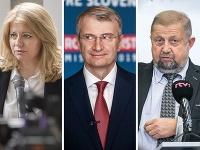 Zuzana Čaputová, Robert Mistrík a Štefan Harabin