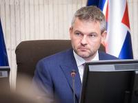 Peter Pellegrini počas rokovania vlády