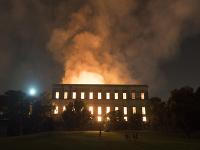 Požiar v múzeu v Rio de Janeiro