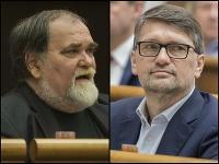 Miroslav Číž a Marek Maďarič
