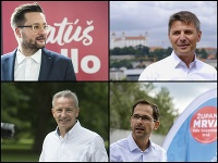 Matúš Vallo, Ivo Nesrovnal, Václav Mika a Ján Mrva