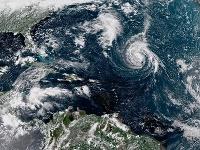 Hurikán Florence sa sformoval nad Atlantikom.