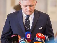 Predseda strany Smer-SD Róbert Fico.