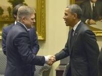 Aj bývalý premiér Robert Fico navštívil Biely dom.