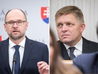 Richard Sulík a Robert Fico