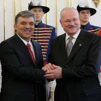 Abdullah Güll a Ivan Gašparovič