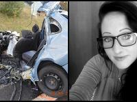 Z auta zostal vrak. Veronika bola na mieste mŕtva.