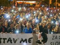 Nespokojní Slováci opäť vyšli do ulíc  VIDEO Pokračovanie veľkých  protestov 59ad170f0ac