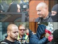 Polícia zadržala a obvinila z vraždy Kuciaka a jeho partnerky štyroch podozrivých. Medzi nimi je aj údajná objednávateľka Alena (hore vľavo), ktorá pracovala ako tlmočníčka pre Mariana Kočnera. Ďalšími obvinenými sú Tomáš Szabo (hore vpravo), Miroslav Mar