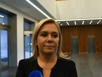 Ministerka vnútra SR Denisa Saková.