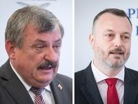 Anton Hrnko a Milan Krajniak