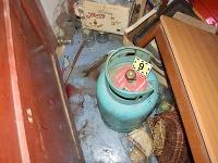 Plynová bomba, použitá počas incidentu