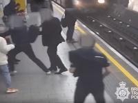 Incident na londýnskej stanici metra.