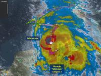 Hurikán Michael smeruje k severovýchodnému pobrežiu Mexického zálivu.