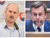 Marian Kotleba a Andrej Danko